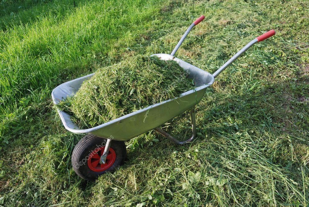 kompostovanie pokosenej trávy
