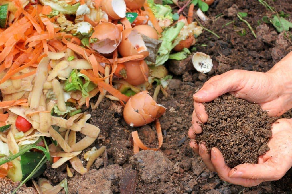 kompostovanie organického odpadu